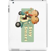 Stay Smart Scooter Monkeys iPad Case/Skin