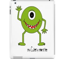 My Cutesy Monster Kids T Shirts, Stickers and Other Gifts iPad Case/Skin