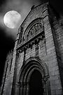monastery by moonlight by Ingrid Beddoes