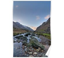 LLanberis Pass - Snowdonia Poster