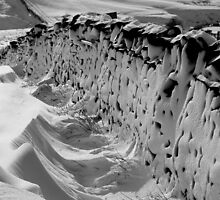 'Frozen Dry Stone Wall' by Mark Smith