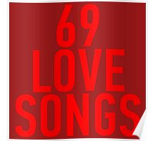 69 Love Songs - The Magnetic Fields Poster
