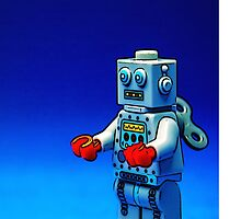 Robbie the Robot by Tim Constable