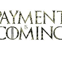 Payment is coming by Longun
