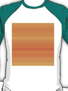 Carrot Orange Stripes T-Shirt