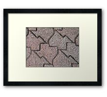 Bricks of Texas Framed Print