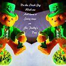 Irish Jig..St Patrick's Day card by MaeBelle