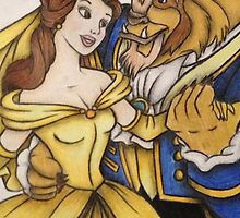 Beauty and the Beast by Vickyis007
