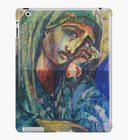 HOLLY MOTHER MARY(SKETCH)(2011) iPad Case/Skin