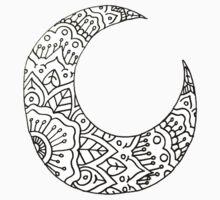 Mandala Moon Crest by MRLdesigns