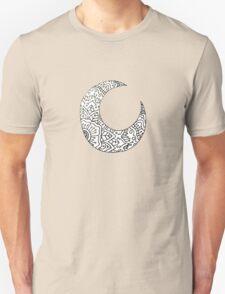 Mandala Moon Crest Unisex T-Shirt