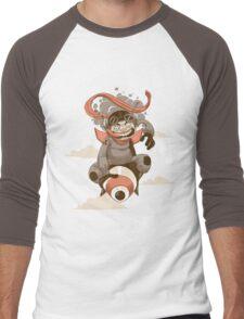 Crotch Rocket Men's Baseball ¾ T-Shirt
