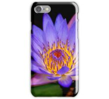 Purple Lily Pad iPhone Case/Skin