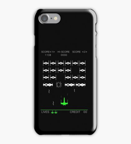 Star Wars Space Invaders! Retro Star Wars Shirt iPhone Case/Skin