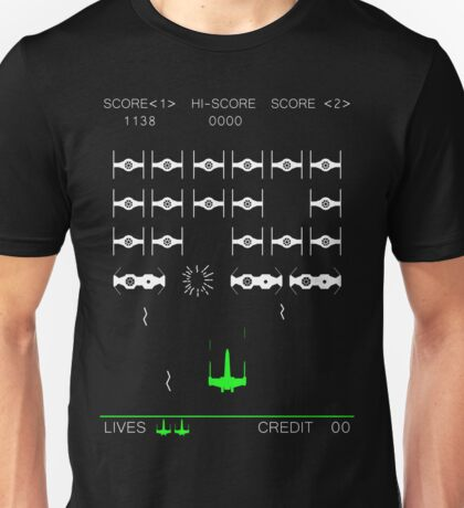 Star Wars Space Invaders! Retro Star Wars Shirt Unisex T-Shirt