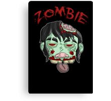 zombie music(less) print... Canvas Print