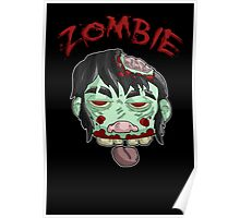 zombie music(less) print... Poster