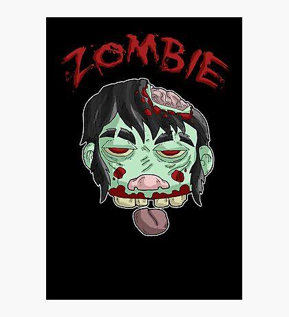 zombie music(less) print... Photographic Print