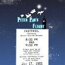 Peter Pan's Flight- Fastpass by Margybear