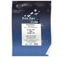 Peter Pan's Flight- Fastpass Poster
