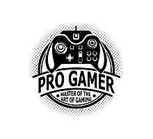 Pro Gamer - Master Of The Art Of Gaming Photographic Print