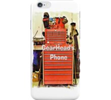 Gearhead's Phone iPhone Case/Skin