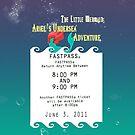 Ariel's Undersea Adventure- Fastpass by Margybear