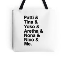 Midnight Radio Tote Bag