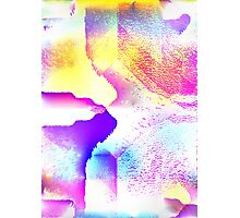 Bright Glitch Haze Photographic Print
