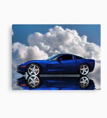 Corvette C6 Profile Canvas Print