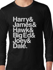 The Bookhouse Boys (White) Long Sleeve T-Shirt