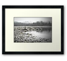 Fraser River Framed Print