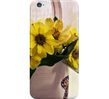 Watering Can Daisies iPhone Case/Skin