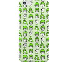 Scooby Doo Green Pattern iPhone Case/Skin