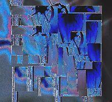 Blue structure by Heike Schenk Arena