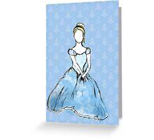 Cinderella- Plain Greeting Card