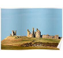 Dunstanburgh Castle Northumberland Poster