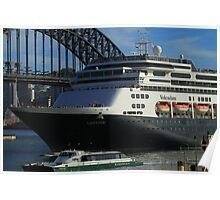 Volendam Arriving IN Sydney Poster