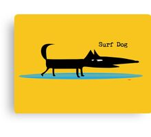 Surf Dog Canvas Print