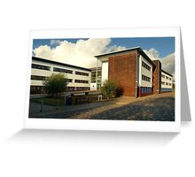 Open University - Milton Keynes,UK Greeting Card