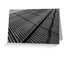 Shadow Railings Greeting Card