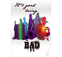 It's good being bad Poster