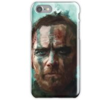 Macbeth - Michael Fassbender iPhone Case/Skin
