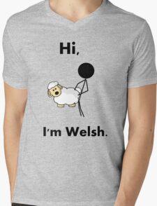 hi i'm welsh Mens V-Neck T-Shirt