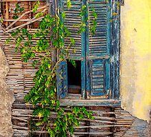 Rustic Window - Samos Island, Greece by StefanieT
