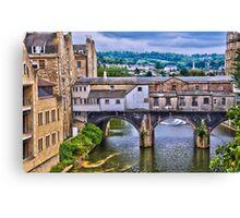Bath, Pulteney Bridge Canvas Print