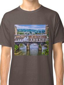 Bath, Pulteney Bridge Classic T-Shirt