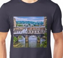 Bath, Pulteney Bridge Unisex T-Shirt