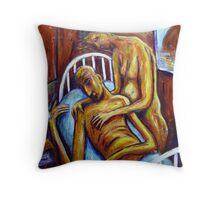 Broken Hill Pieta Throw Pillow