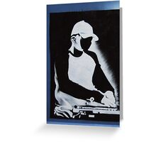 DJ Q BERT pt 2 Greeting Card